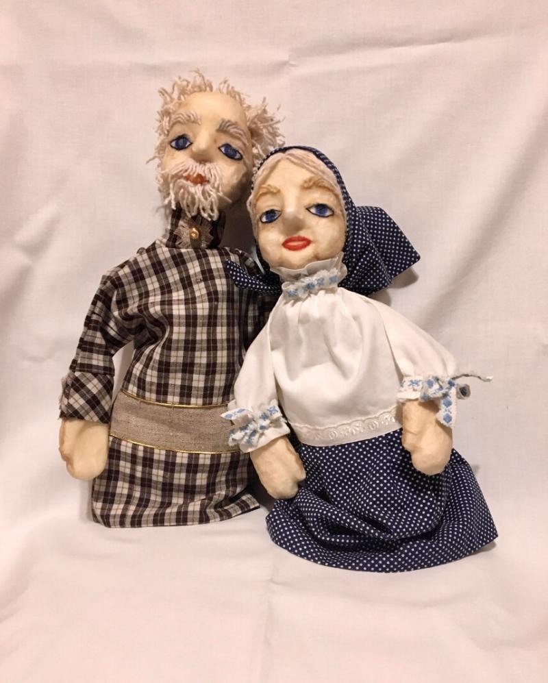 Grandma and Grandpa (puppets), by Marina Hovasapyan