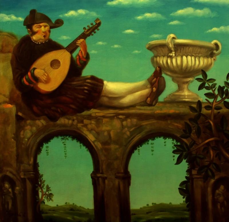 Improvisator, by Tigran Vardikyan
