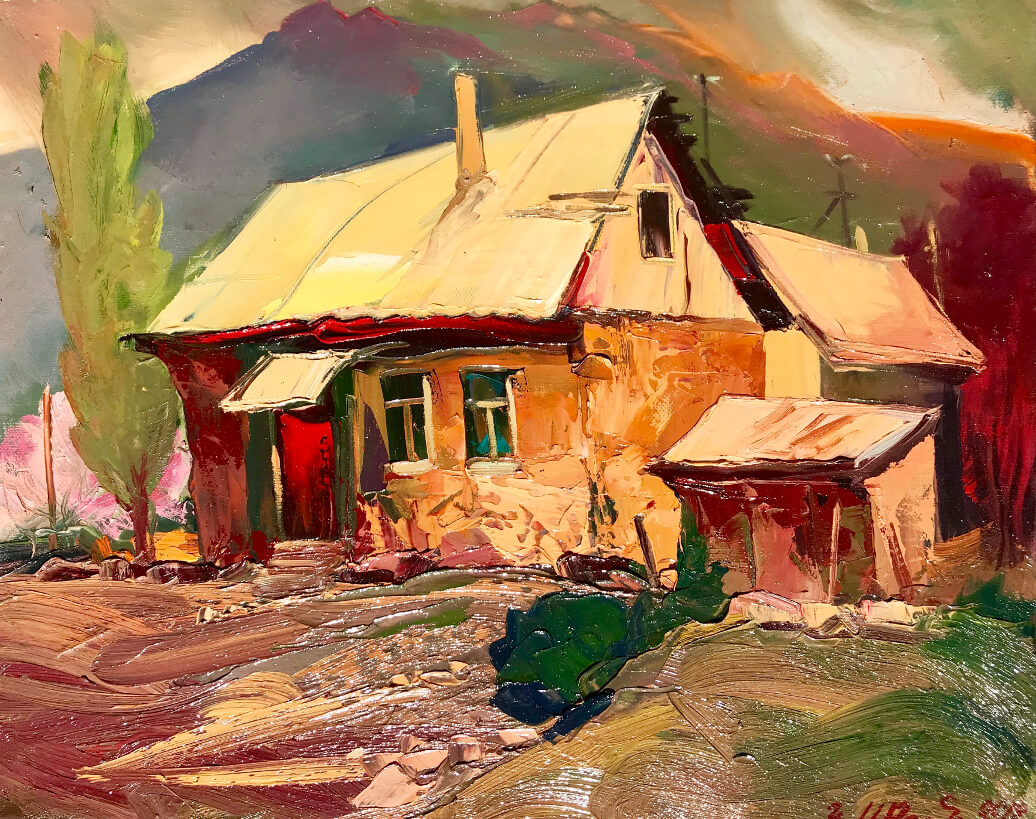 In the village, by Kamo Atoyan
