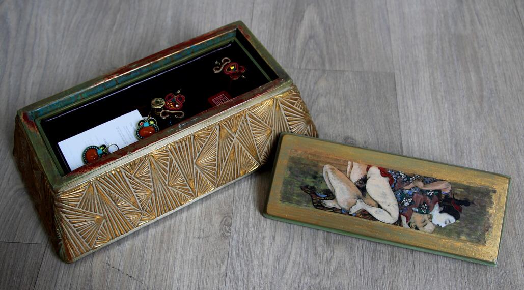 Jewelry Casket, by Vardan Harutyunyan