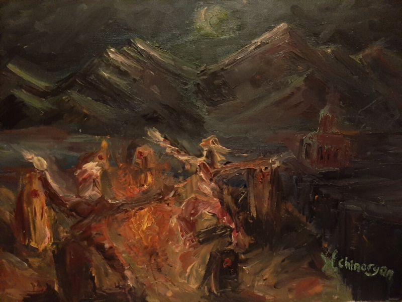 Night Dance, by Hakob Chinaryan