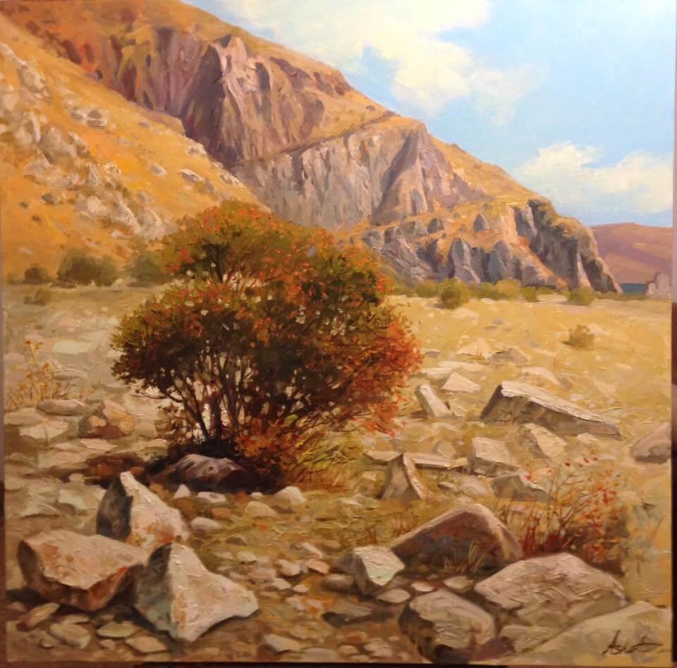«Մասրենին լեռներում», հեղինակ՝ Աշոտ Ազատյան