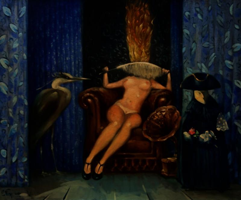 «Դիմակահանդեսի թագուհի», հեղինակ՝ Տիգրան Վարդիկյան