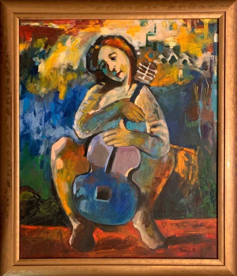 «Կիթառահարուհին», հեղինակ՝ Խանի