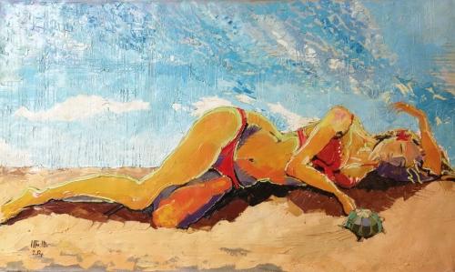 «Ծովափին», հեղինակ՝ Անահիտ Միրիջանյան