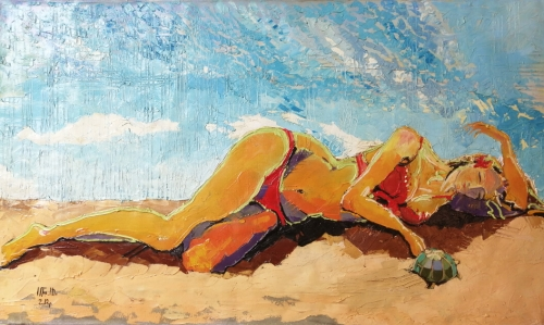 On the Beach, by Anahit Mirijanyan