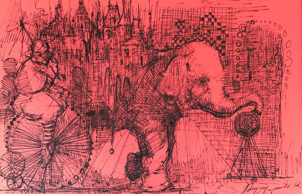 «Կրկես», հեղինակ՝ Արտավազդ Թալալյան