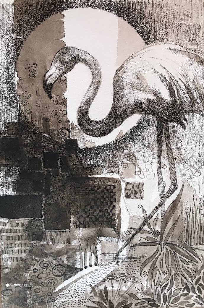 Flamingo, by Artavazd Talalyan