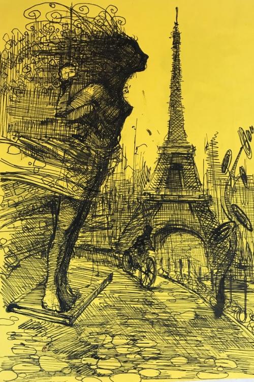 «Փարիզ», հեղինակ՝ Արտավազդ Թալալյան