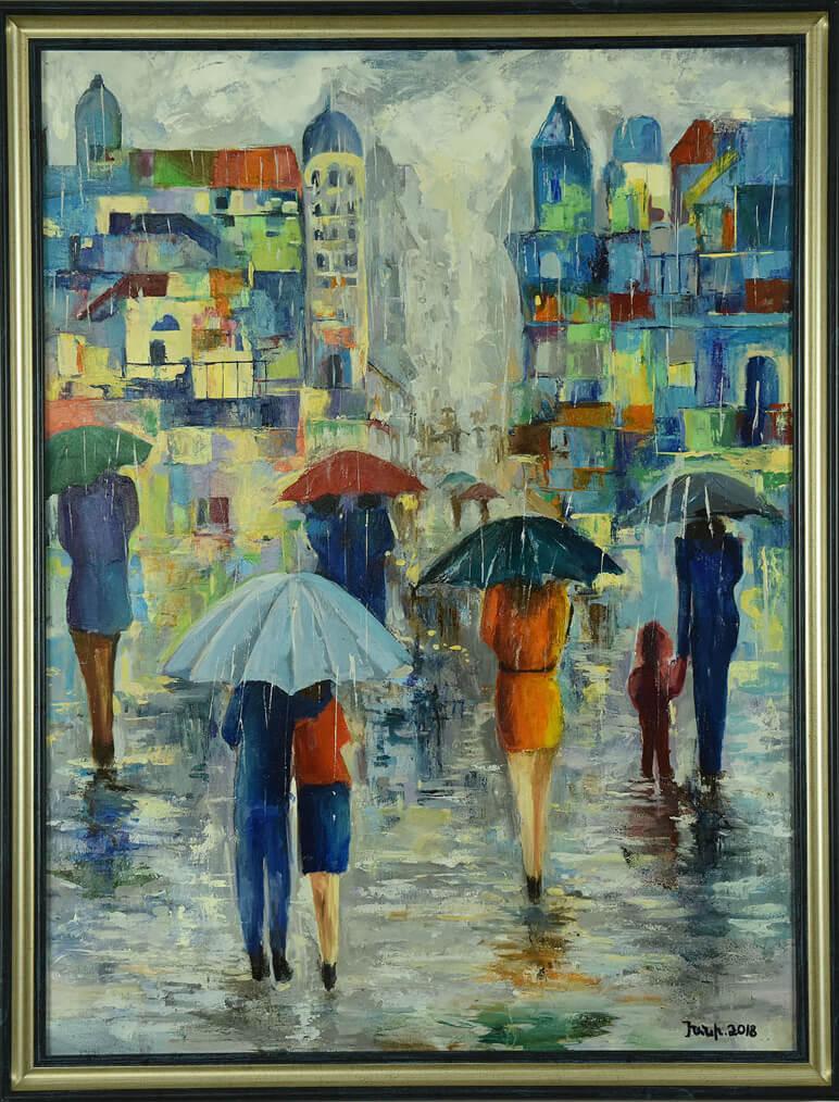 «Անձրև», հեղինակ՝ Խանի