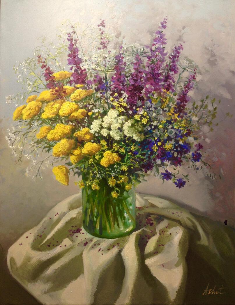 «Մարգագետնի ծաղիկներ», հեղինակ՝ Աշոտ Ազատյան