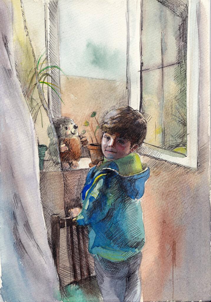 «Առավոտ», հեղինակ՝ Գայանե Եղիազարյան