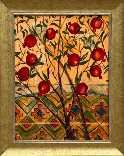 Pomegranate Tree, by Knkush Yesoyan