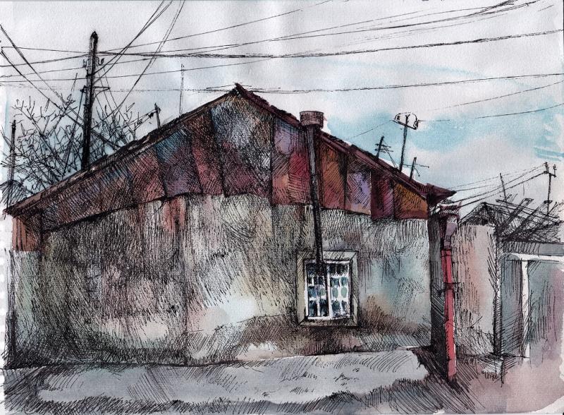 «Թեք տունը», հեղինակ՝ Գայանե Եղիազարյան