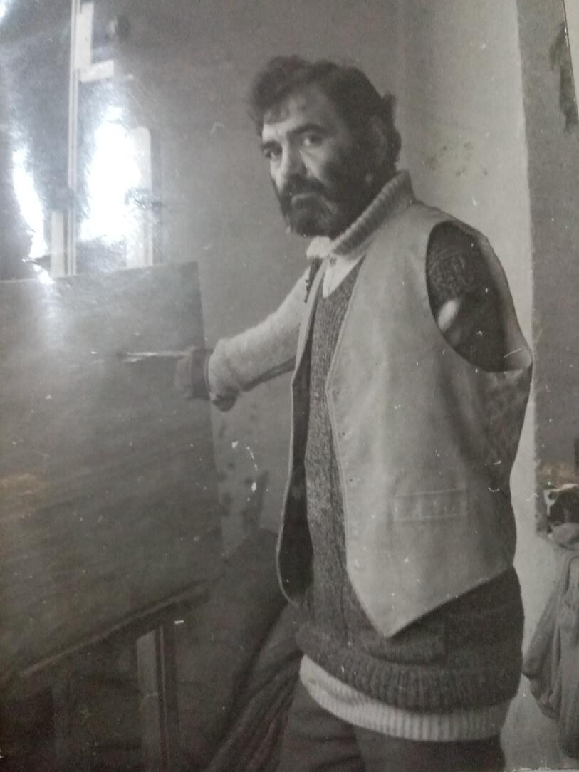 Painter Isakov Ashot (1954-1998)