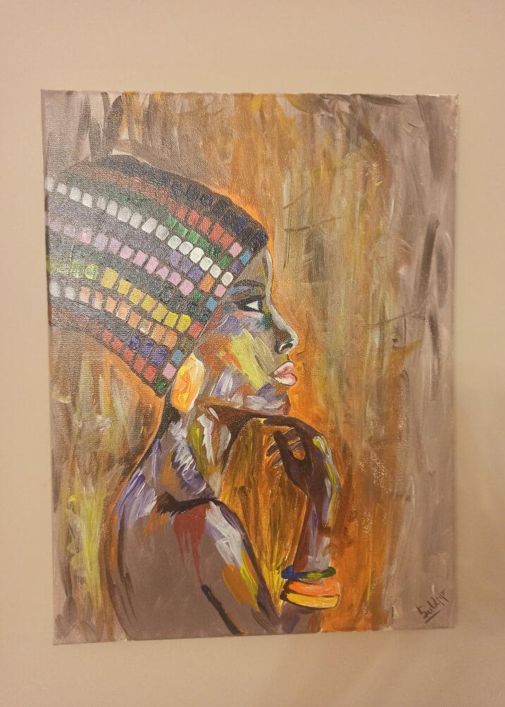 «Աֆրիկայի գույները», հեղինակ՝ Սաթենիկ Մնացականյան։