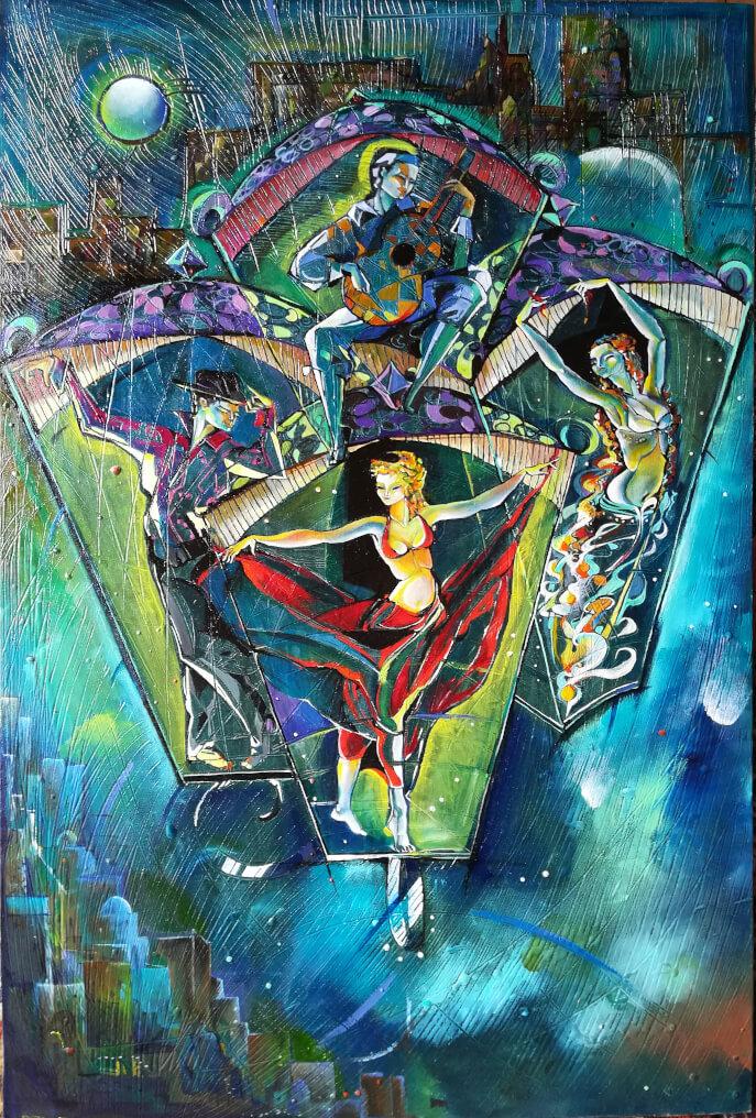 «Գիշերային երաշտական լապտերներ», հեղինակ՝ Անահիտ Միրիջանյան