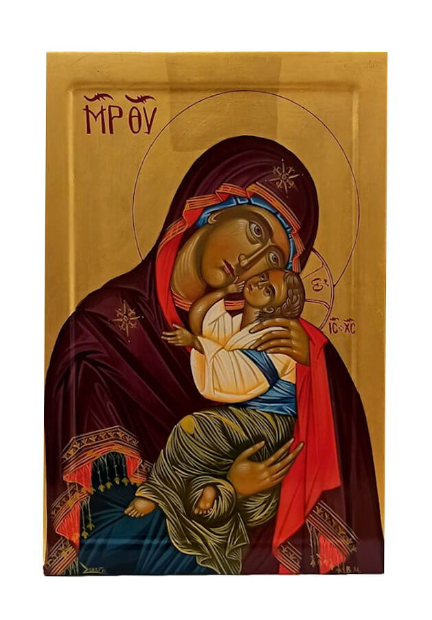 Virgin Mary the Glycophilous Hagiography, by Hamayak Gyogchyan