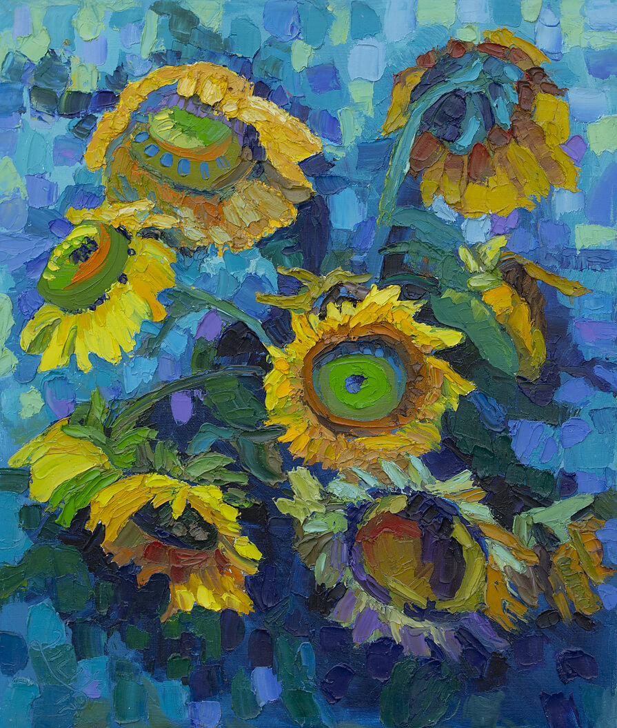 The Sunflowers, by Lilit Vardanyan