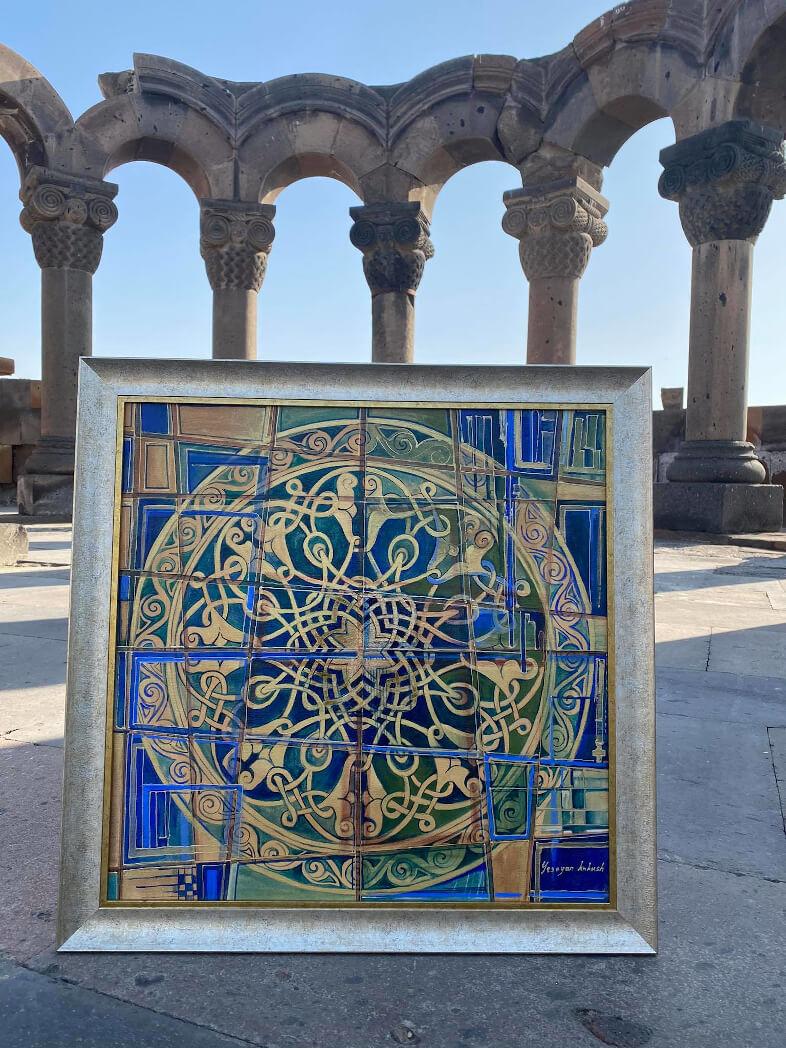 Թեմատիկ հավաքածու «Հայկական մոտիվներ», հեղինակ՝ Քնքուշ Եսոյան