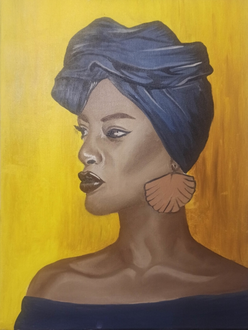 African Woman, by Satenik Mnatsakanyan