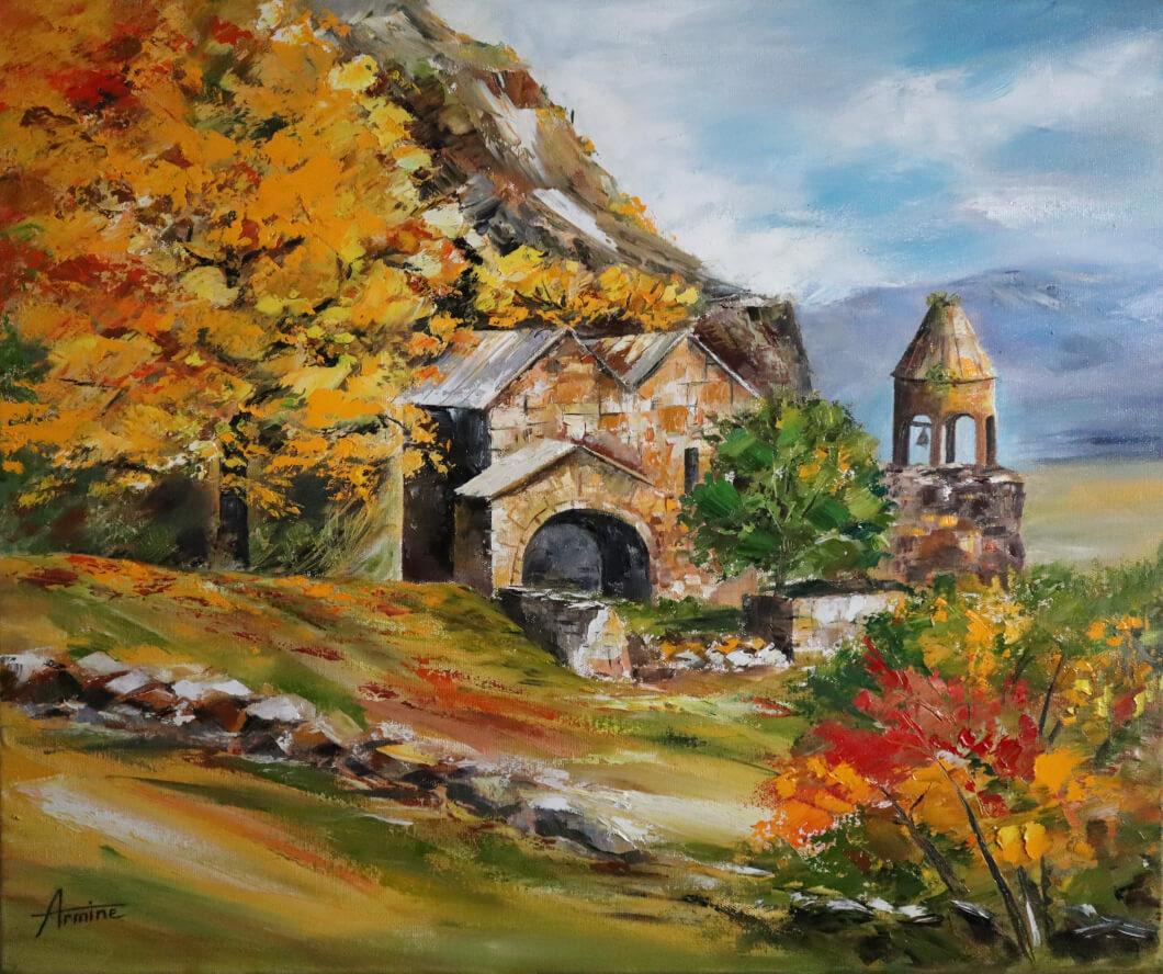Ardvi Monastery, by Armine Vardumyan