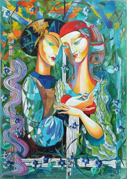«Սեր», հեղինակ՝ Անահիտ Միրիջանյան