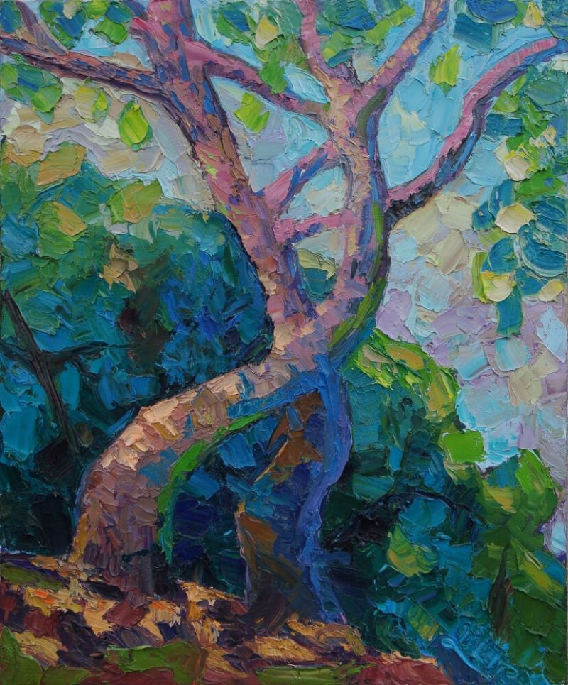 Dance of Trees, by Lilit Vardanyan