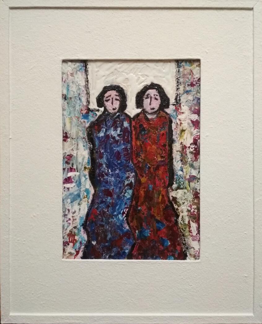 Two Girlfriends (II), by Artur Isayan