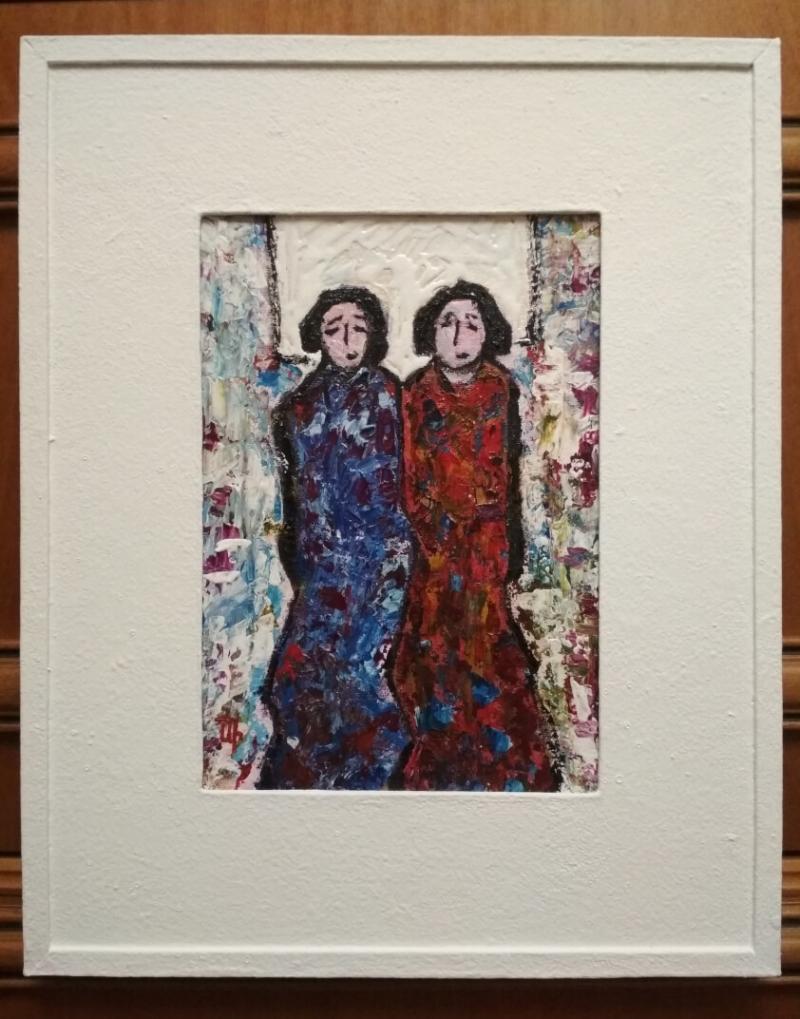 «Երկու ընկերուհիներ - 2», հեղինակ՝ Արթուր Իսայան