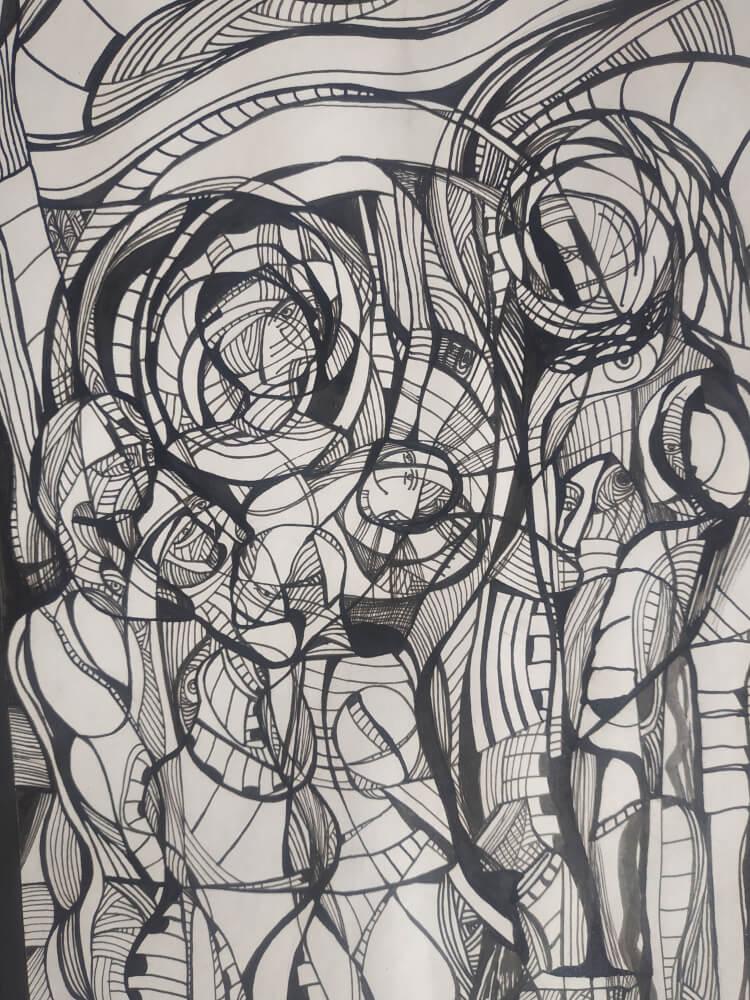 The Three Magi, Painting by Sose Karakhanyan