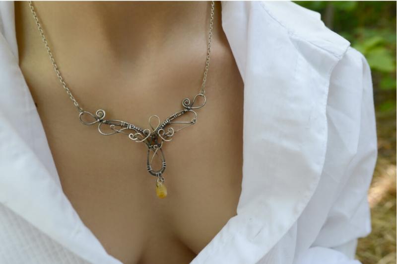 Palace, handmade necklace by Sose Karakhanyan