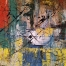Abstraction, painting by Narek Avanesyan