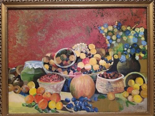 Still Life, painting by Narek Avanesyan