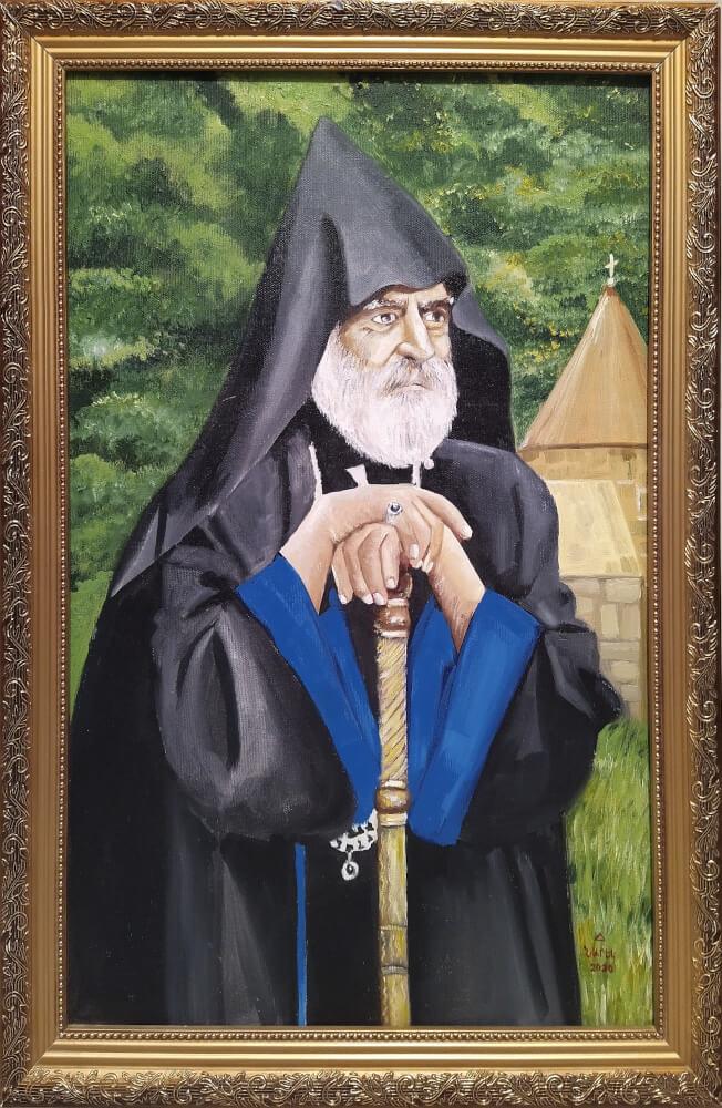 «Պարգև Սրբազանը», յուղանկար, հեղինակ՝ Նարեկ Ավանեսյան