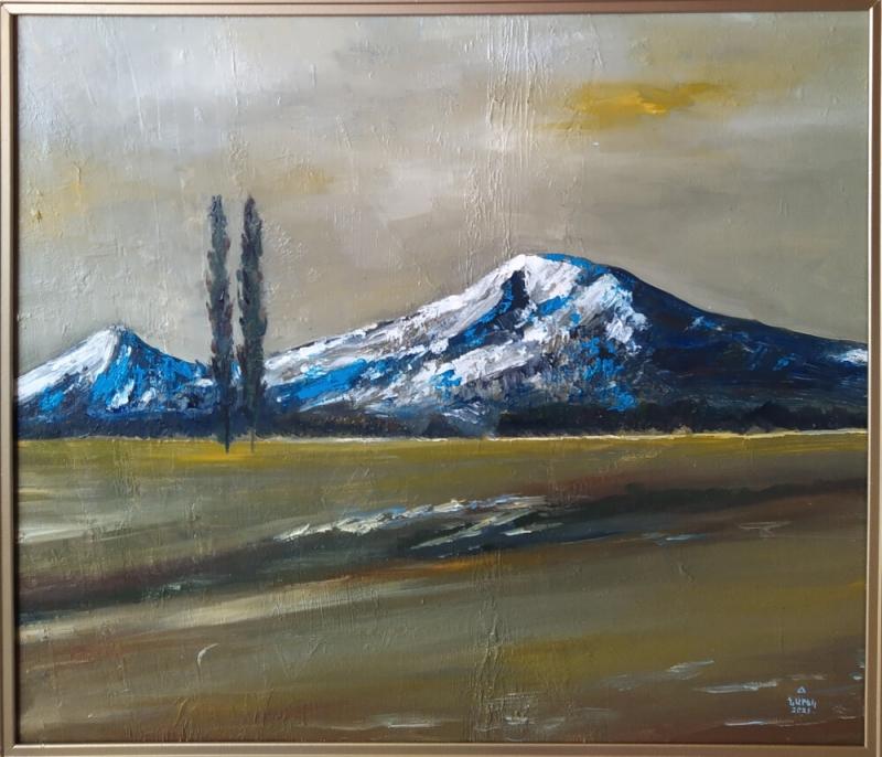 «Արարատ լեռ», յուղանկար, հեղինակ՝ Նարեկ Ավանեսյան