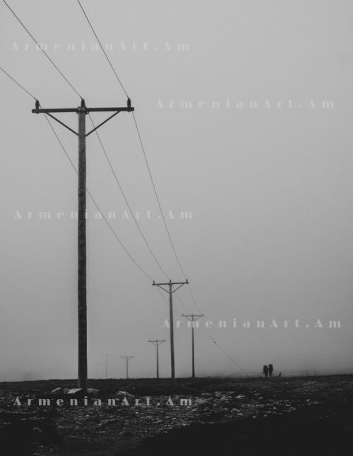 «Ինչ -որ մեկի հետ քայլել խավարի միջով», լուսանկարի հեղինակ՝ Արամ Խալաֆյան