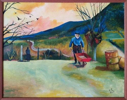 The Country Flavour, painting by Narek Avanesyan
